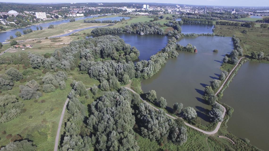 Luchtfoto Meinerswijk - Stadsblokken