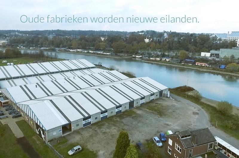 oude fabrieken worden nieuwe eilanden